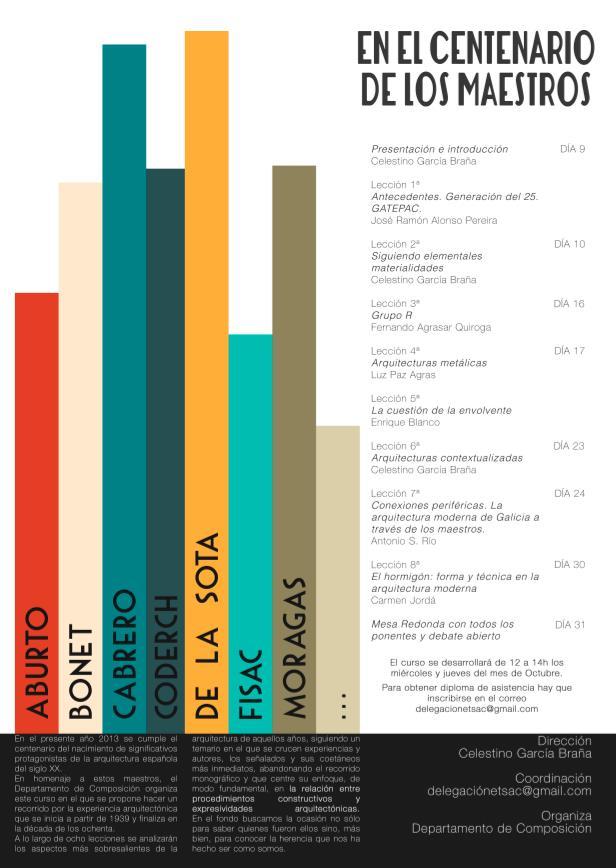 Ciclo de Conferencias En el Centenario de los Maestros