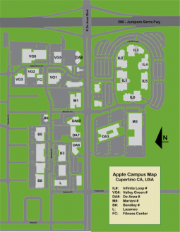 Plano del Apple Campus