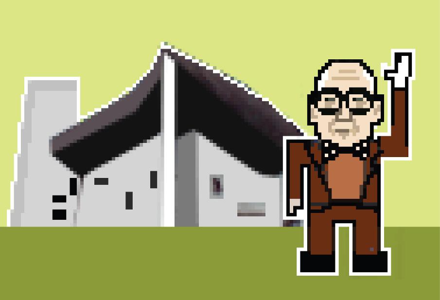 Le Corbusier por Federico Babina