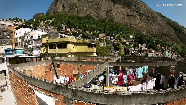Favelas en Rio de Janeiro - Ciudades a vista de drone