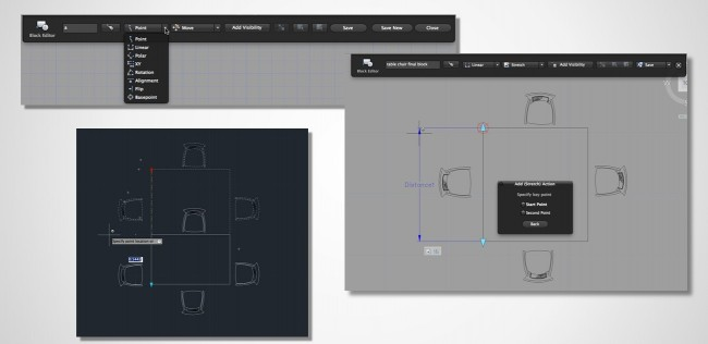 AutoCAD 2015 para Mac Bloques Dinamicos
