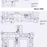 Alcázar de Madrid: Evolución en planta