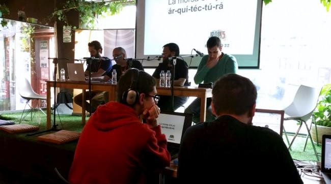 En directo desde las Jpod15 Zaragoza