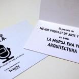La morsa era yo Arquitectura ganador en los VI Premios Asociación Podcast
